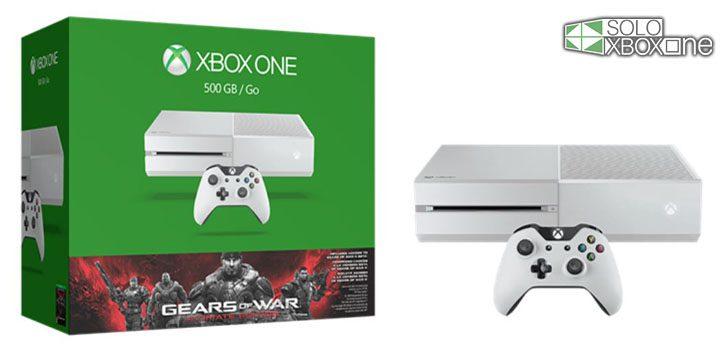 Anunciado pack Xbox One color blanco + Gears of War Ultimate Edition