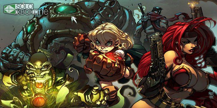 Gameplay del RPG Battle Chasers: Nightwar