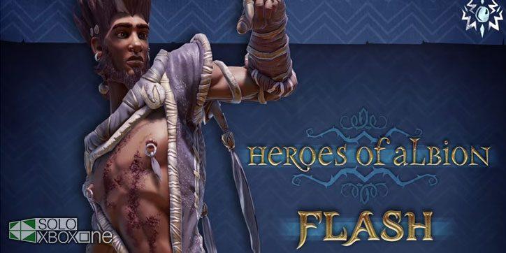 Conocemos al nuevo personaje de Fable Legends: Flash