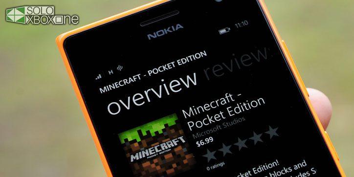 La respuesta de Microsoft a las consolas portátiles es Minecraft