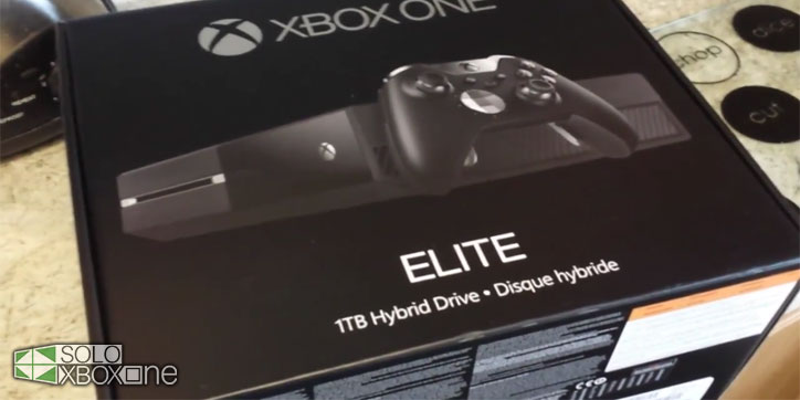 Unboxing de la Xbox One Elite