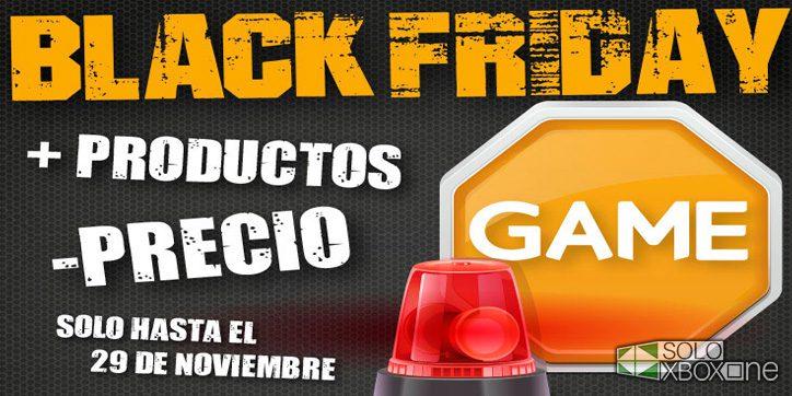 El Black Friday también llega a GAME, estas serán sus ofertas para Xbox One