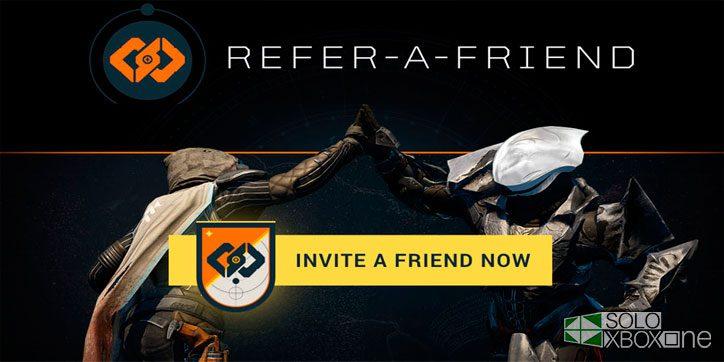 La función Recomendar a un Amigo ya está disponible en Destiny