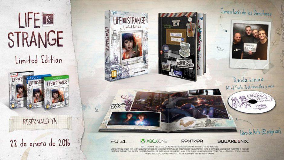 Al descubierto el tráiler y los nuevos detalles de la edición limitada de Life Is Strange