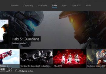 Nueva actualización de Xbox One para miembros preview
