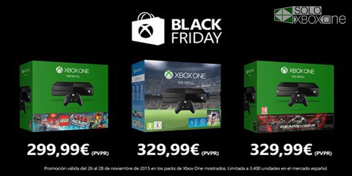 Ofertones en el Black Friday de Microsoft: El mejor momento para comprar una Xbox One