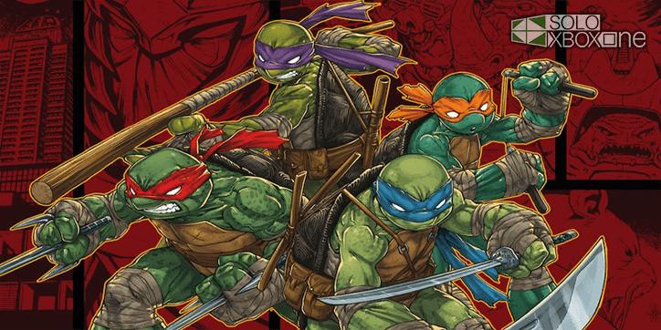 Posible ilustración del juego de las Tortugas Ninja de Platinum Games