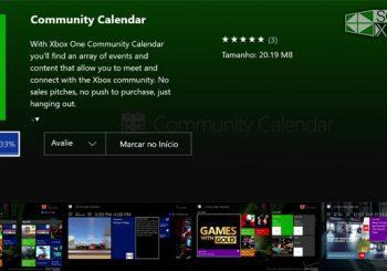 La app Community Calendar ya está disponible para todos los usuarios en Xbox One