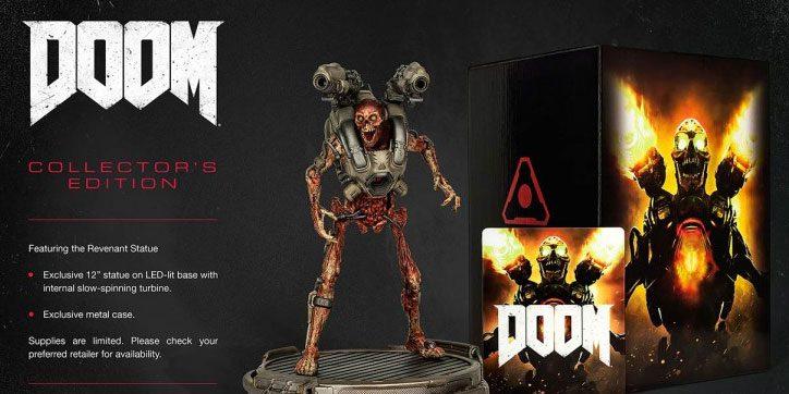 Reserva en GAME la exclusiva edición coleccionista de Doom