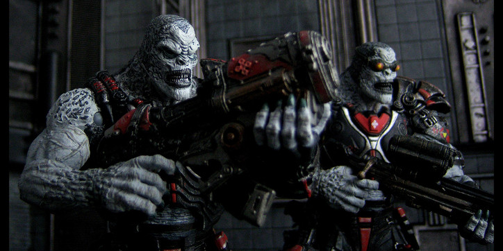 Gears Of War: El último locust en Sera