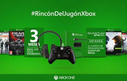 Gana juegos y complementos de Xbox con el #RincónDelJugónXbox