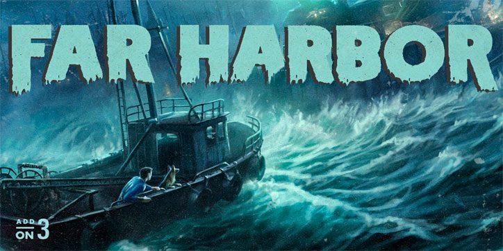 La isla de Far Harbor tiene un 20% del tamaño de la Commonwealth