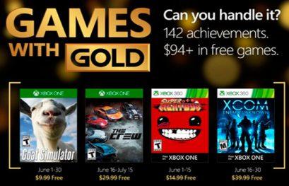 The Crew y XCOM ya se pueden descargar con los Juegos con Gold de junio