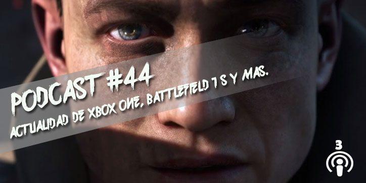 Podcast Solo Xbox One #44 (Tercera Temporada)