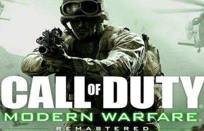 Disfruta del nuevo gameplay de Call of Duty: Modern Warfare Remastered
