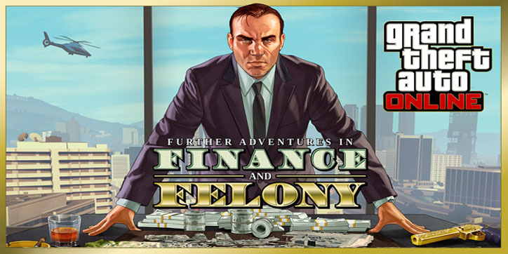 A detalle la actualización mas reciente de GTA Online: Aventuras de Finanzas y Crimen
