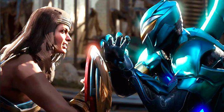 Wonder Woman y Blue Beetle estarán presentes en Injustice 2