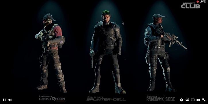 Vístete de Sam Fisher o de Ghost Recon en The Division con estos trajes gratuitos