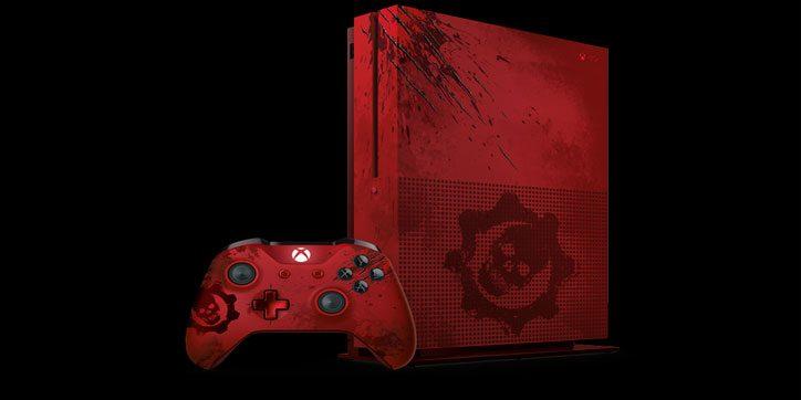 Xbox One S edición Gears of War 4 anunciada oficialmente