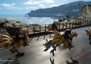 Nuevos vídeos de Final Fantasy XV muestran la carrera de Chocobos y dos minutos de Gameplay en japonés