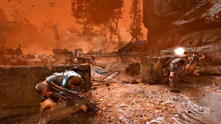 The Coalition desestimó un físico totalmente realista para los personajes de Gears 4