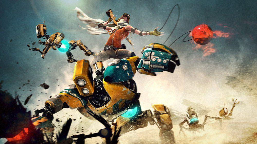 Los tres corebots principales junto a Joule