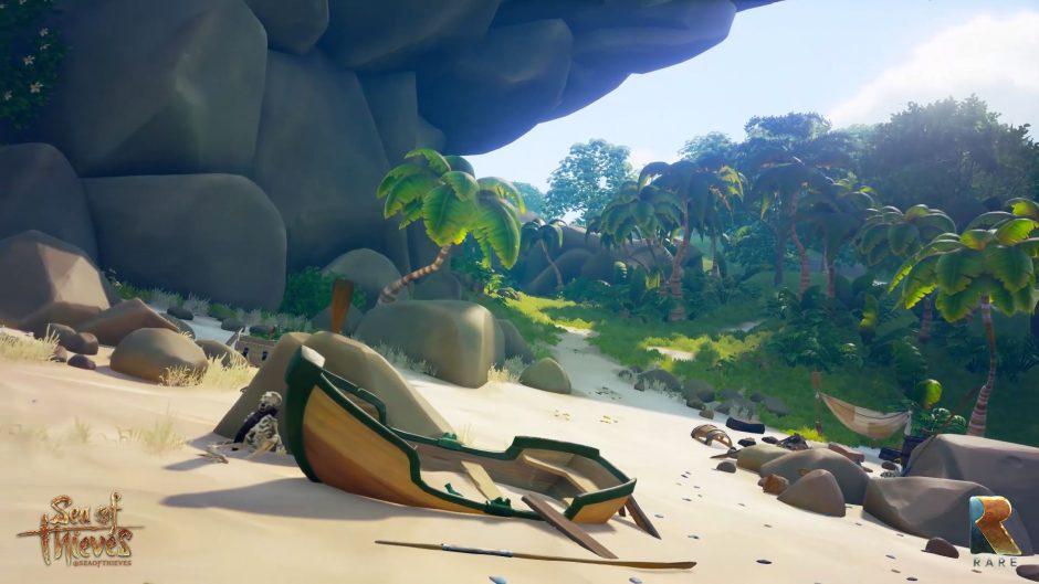 El mundo de Sea of Thieves tendrá partes procedurales y misiones infinitas