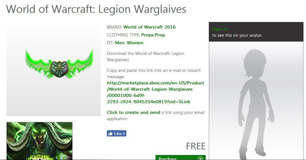 world of warcraft warglives generacion xbox