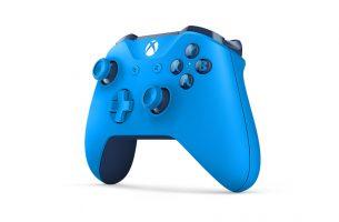 No te pierdas lo bonito que es este mando inalámbrico en azul cyan