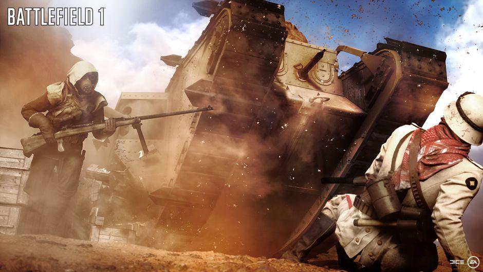 Esta semana Battlefield 1 recibirá nuevo contenido gratuito