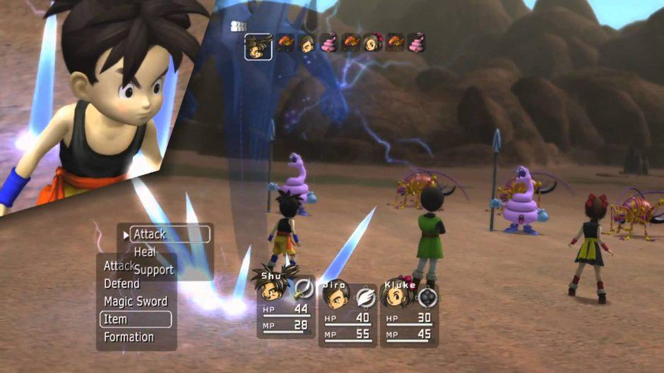 Otro juego que mejora con la retrocompatibilidad, Blue Dragon a 30 fps rocosos en One