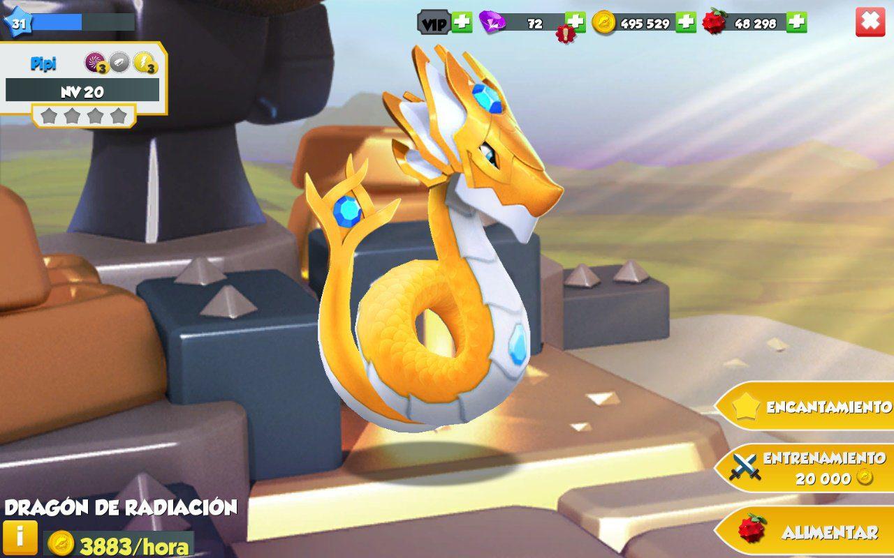 El aspecto de nuestros dragones está perfectamente recreado.
