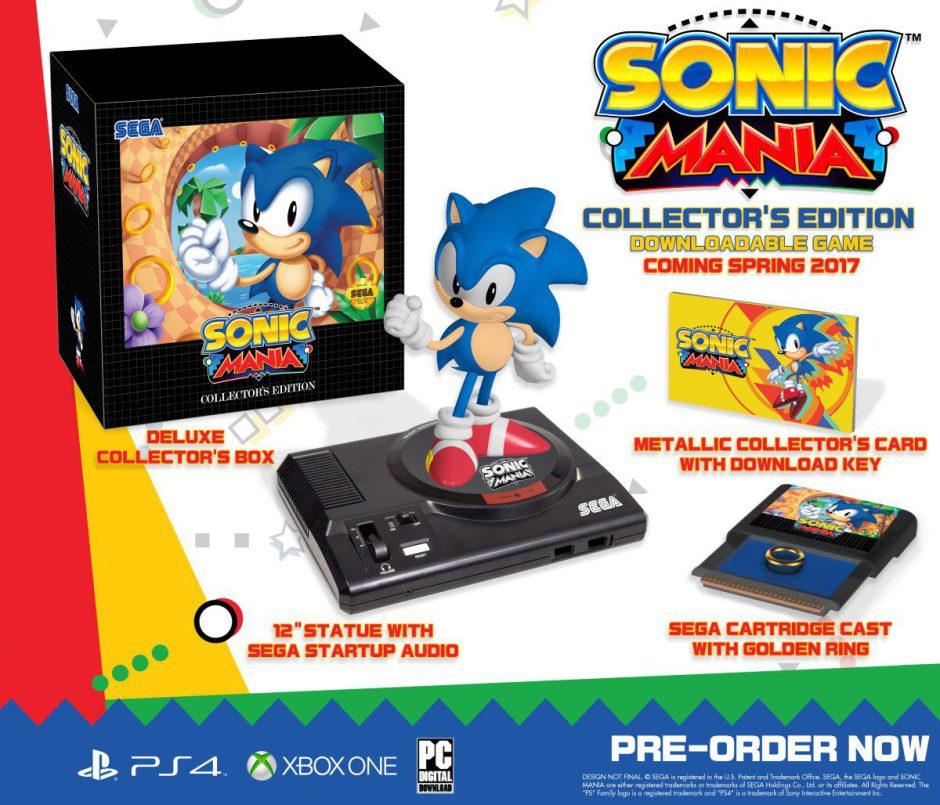 Así es la Edición Coleccionista de Sonic Mania