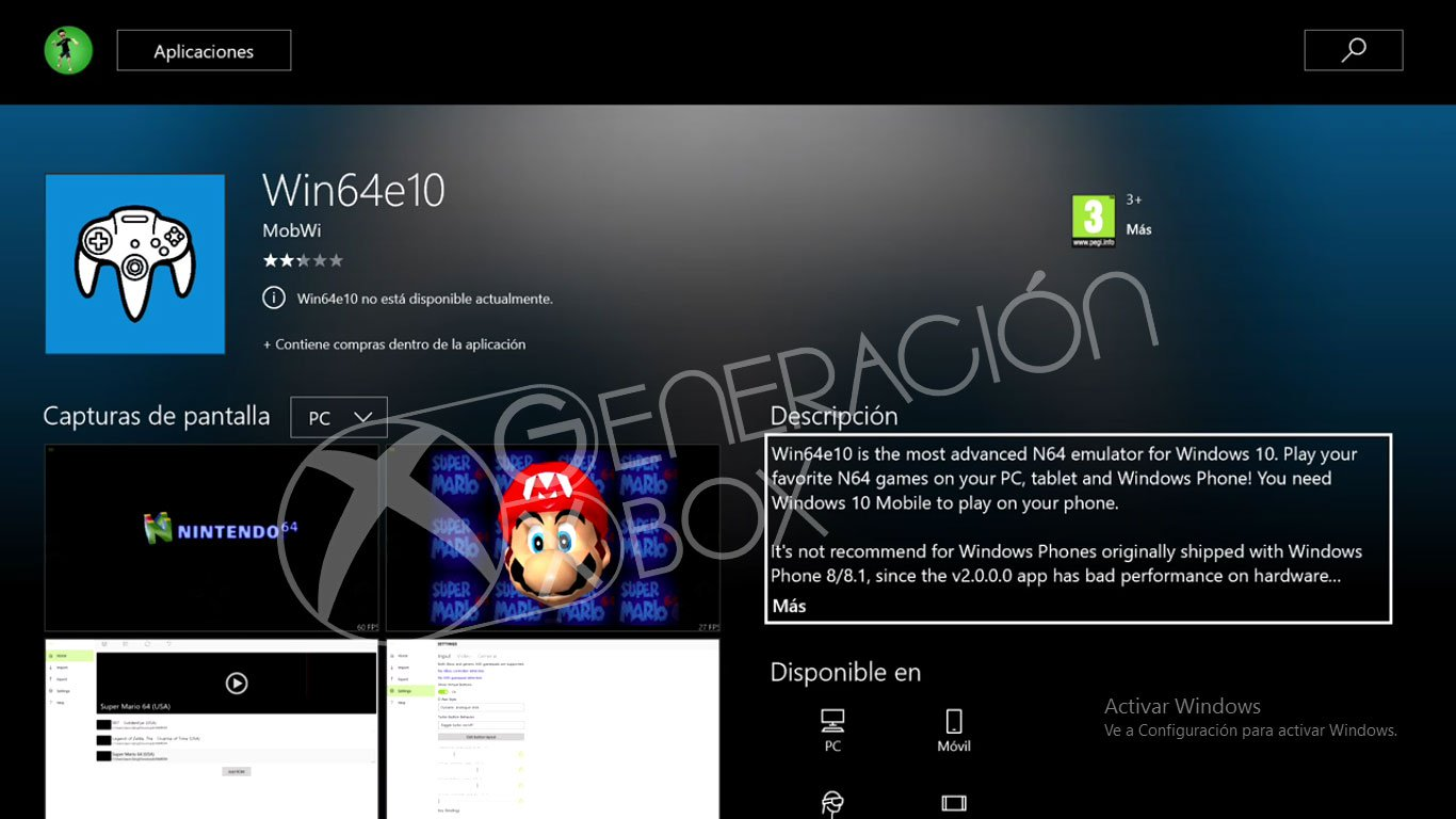 win64e10-emulador-generacion-xbox