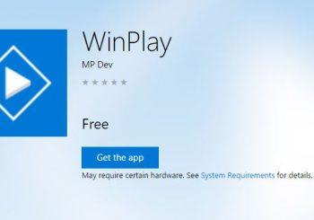 ¿Una aplicación simple para audio y vídeo? WinPlay es tu reproductor