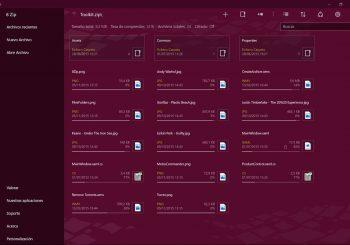 La aplicación 8 Zip, el compresor de archivos y lector de comics, llega a Xbox One