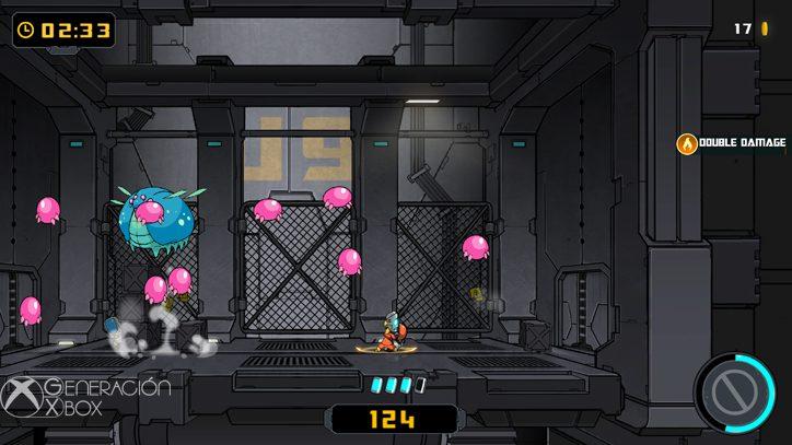 Todos estos bichitos rosas tan monos han salido del azul. Estáis viendo una familia feliz.