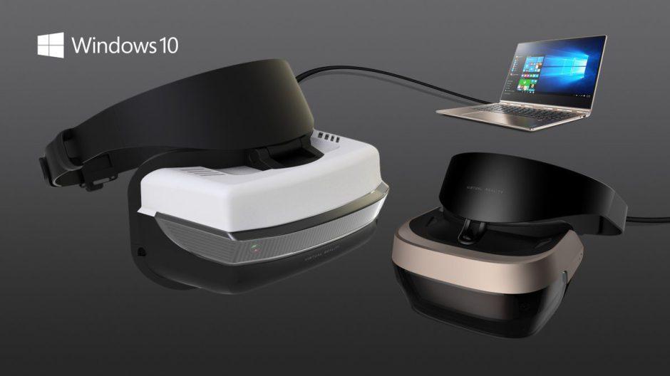 Microsoft presenta sus gafas de realidad virtual por 299 dólares y le da un duro golpe a Playstation VR
