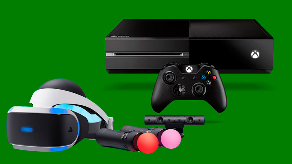 ¿Quieres unas PlayStation VR y tienes una Xbox One? Pues adelante, son compatibles