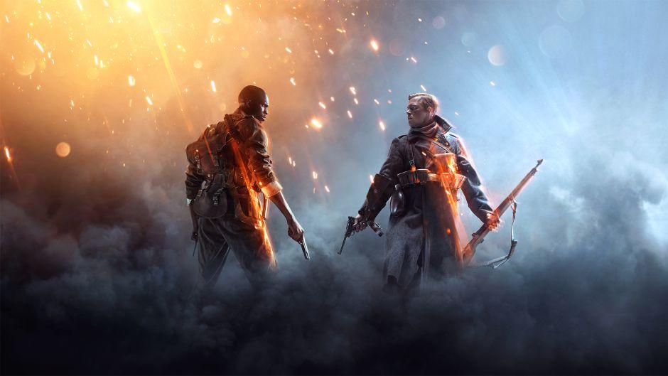 Un brutal glitch nos hace mirar al cielo de Battlefield 1
