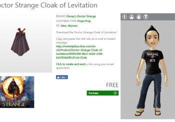 Consigue gratis la capa del Doctor Strange para tu avatar
