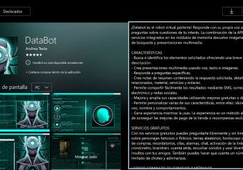 El asistente virtual Databot ya está disponible para Xbox One