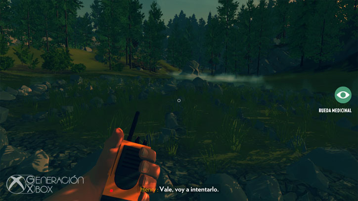 El entorno recreado para Firewatch no te dejará indiferente.