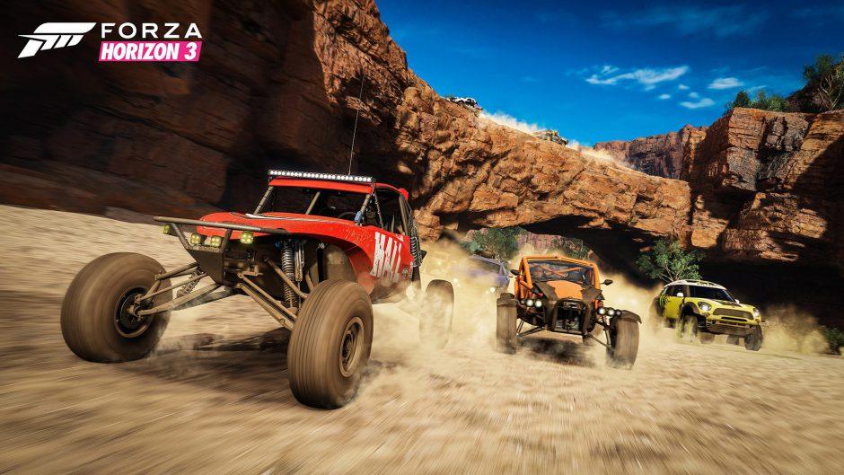 Forza Horizon 3 el juego exclusivo mejor vendido en Estados Unidos