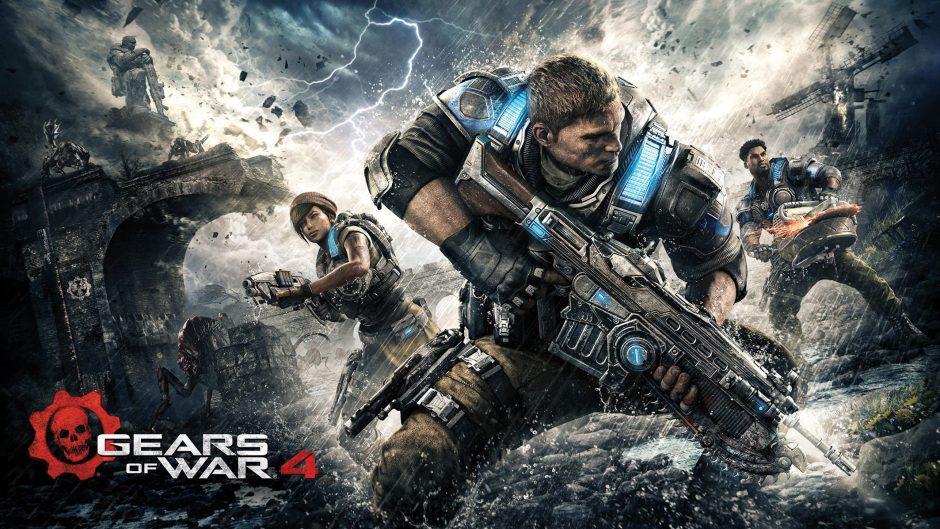 Gears of War 4 es el exclusivo mejor vendido de octubre según NPD