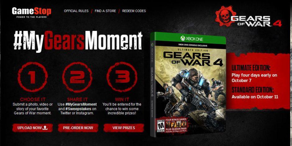 Consigue Gratis un Horde Booster Pack para Gears Of War 4