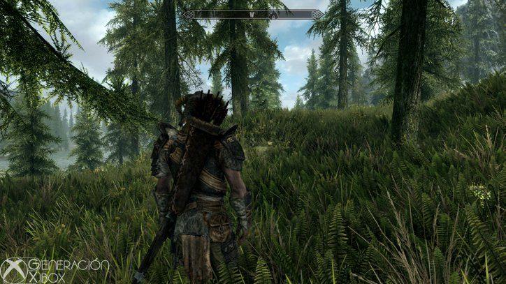El contraste entre las texturas del entorno y la de los personajes es evidente.