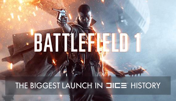 Battlefield 1 es el mayor lanzamiento en la historia de DICE, esta infografía nos da más información