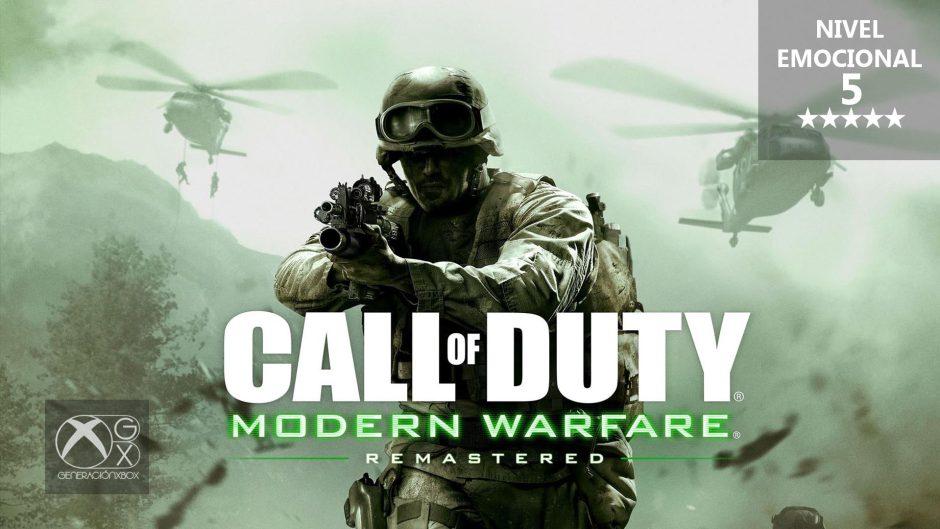 Análisis emocional de Call of Duty: Modern Warfare Remastered