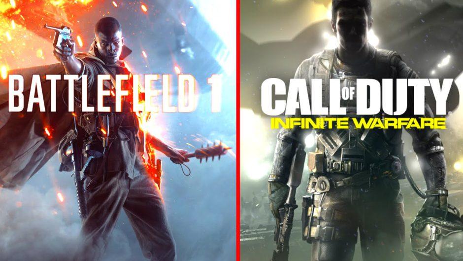 Call of Duty: Infinite Warfare domina las listas de forma agridulce en Reino Unido